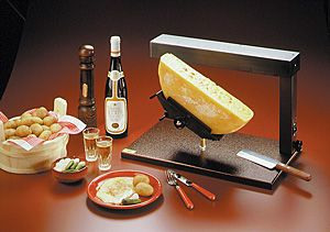 ambiance raclette cheese melter for 1 2