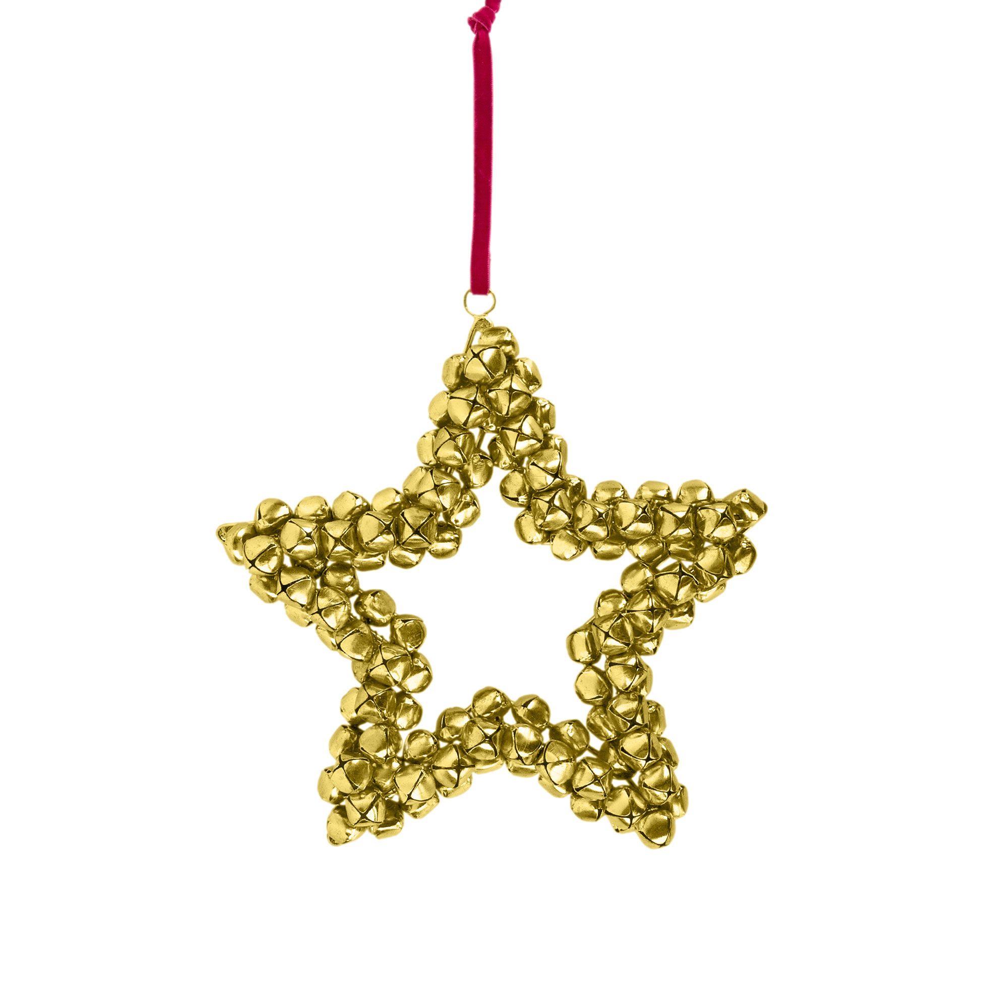 ZARA HOME | Adorno Estrella Cascabeles | adornos navideños ...