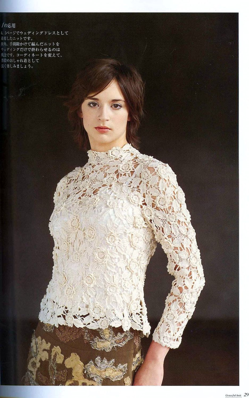 Irish crochet lace wedding dress pattern how to do irish
