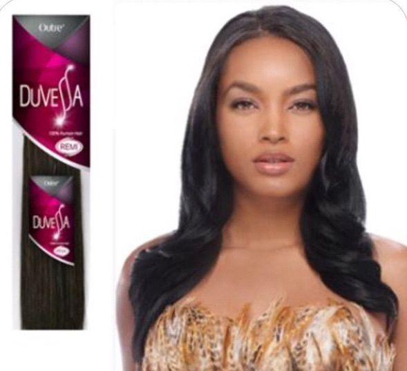 Outre Duvessa 100 Remi Human Hair Yaki 18 16 14 12 10 2 Packs Deal