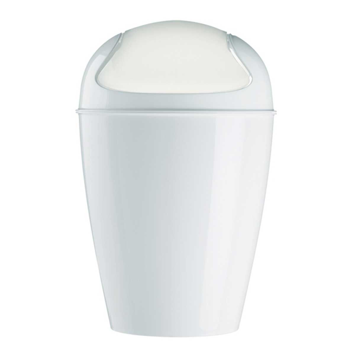 This Medium Swing-Top Waste Basket from Koziol is a handy ...