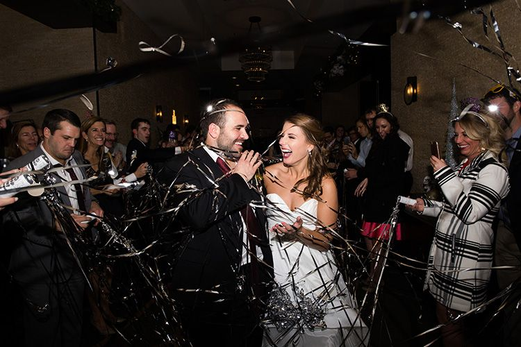 Fun New Year's Eve Wedding in Downtown Nashville New