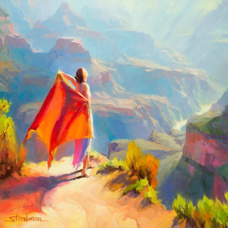Eyrie by Steve Henderson is printed with premium inks for brilliant color and then hand-stretched over museum quality stretcher bars. 60-Day Money Back Guarantee AND Free Return Shipping.