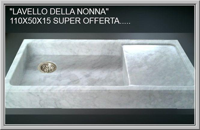 lavello cucina lavandini lavabi piatti doccia in marmo pietra ...