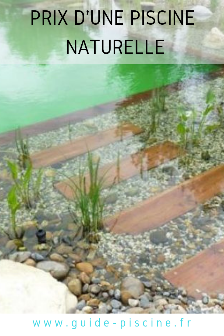 prix et tarifs d 39 une piscine naturelle biologique idee. Black Bedroom Furniture Sets. Home Design Ideas