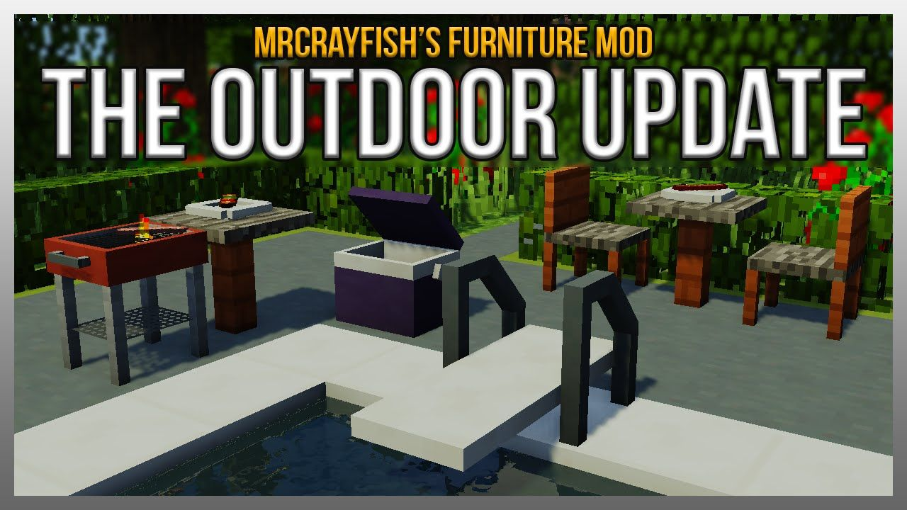 How To Get Mr Crayfish S Furniture Mod On Ipad
