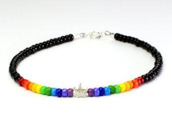 Beaded Rainbow Bracelet