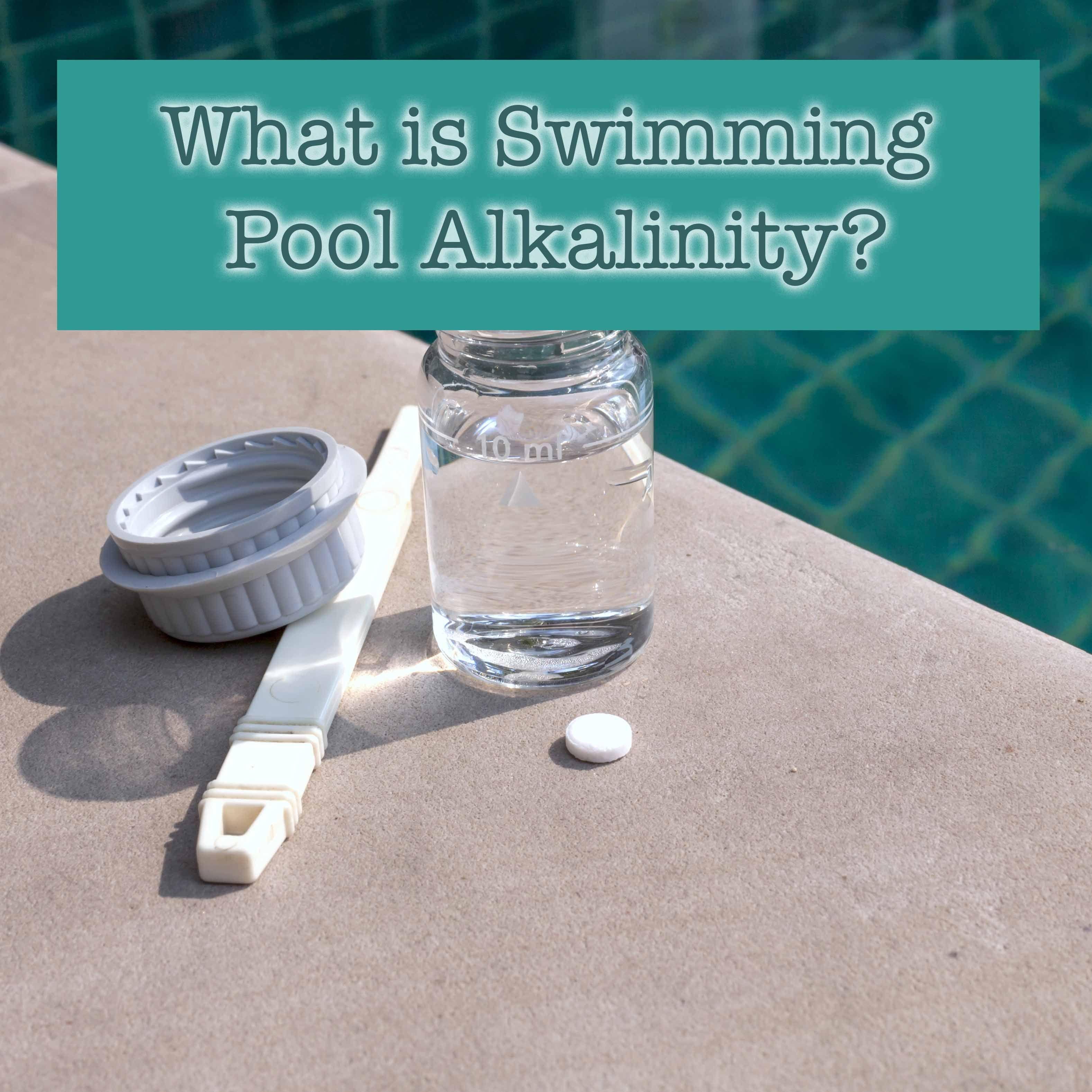 The short short version swimming pool alkalinity often