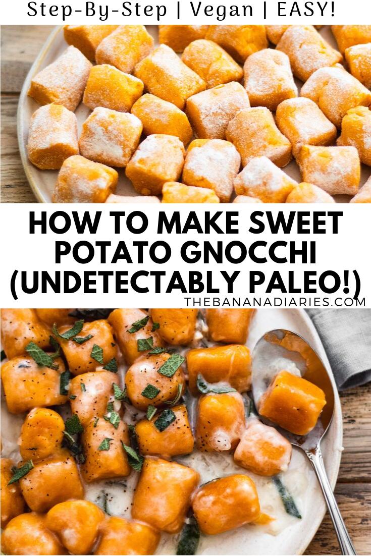 Sweet Potato Gnocchi (Paleo)   The Banana Diaries