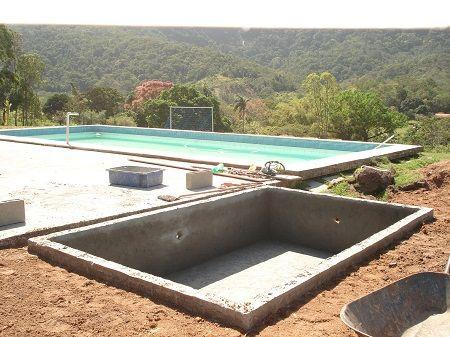 Projetos de piscinas de alvenaria passo a passo piscinas for Piscinas rigidas baratas