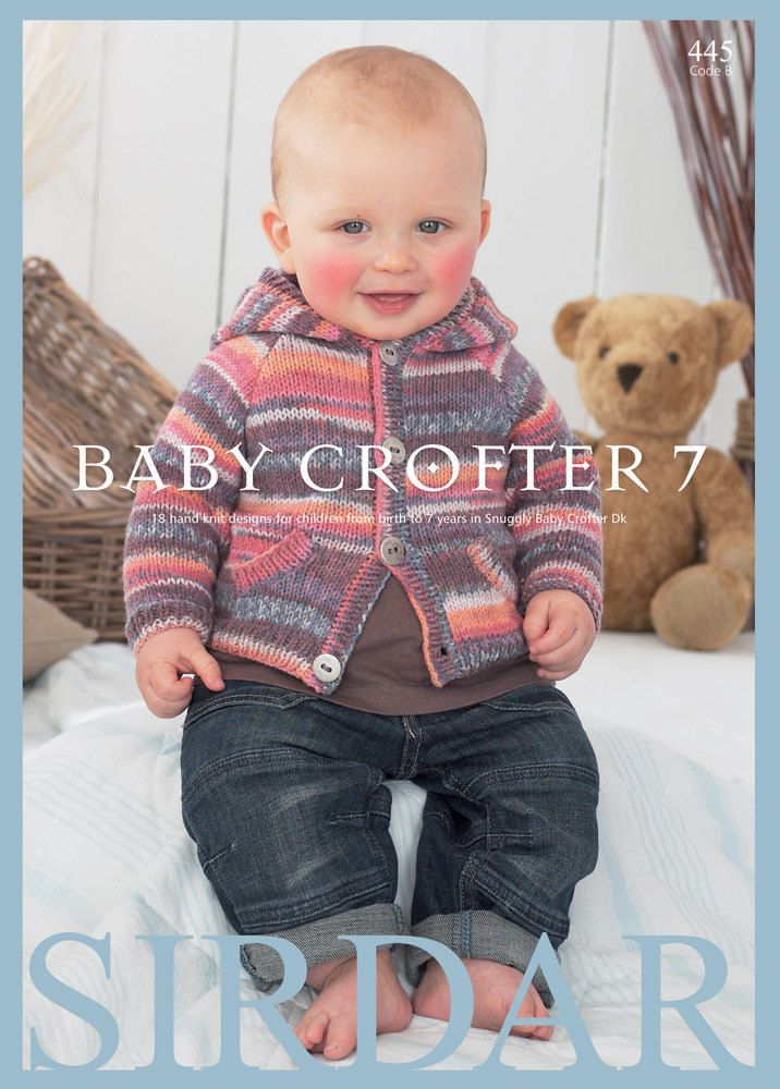Baby Crofter 7 Knitting Pattern Book By Sirdar Features 18 Designs