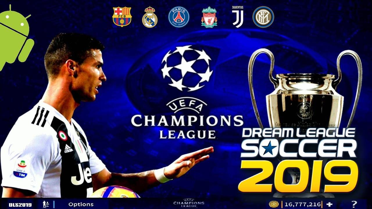 DLS 2019 UEFA Champions Android Mod APK Download http ...