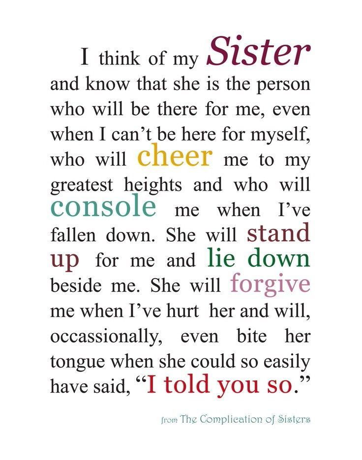 Sister Thank You Quotes - familyandlifeinlv.com