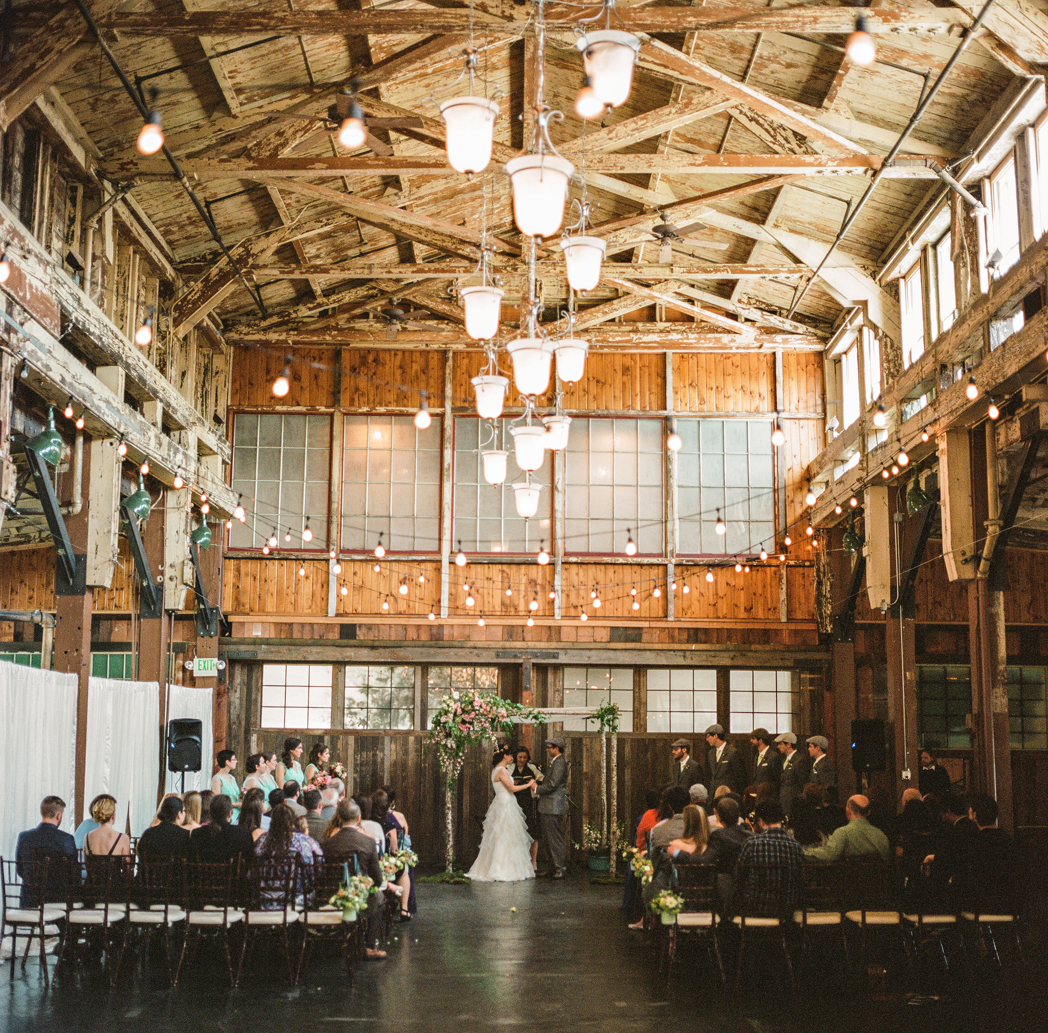 Sodo Park Wedding Benj Haisch Sodo Park Wedding Wedding Industrial Wedding Inspiration