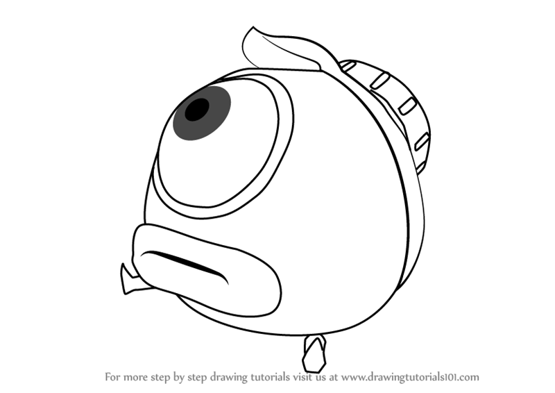 Learn How To Draw Octoball From Splatoon Splatoon Step By