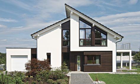 Hausdetailansicht Fassade haus, Haus, Weber haus