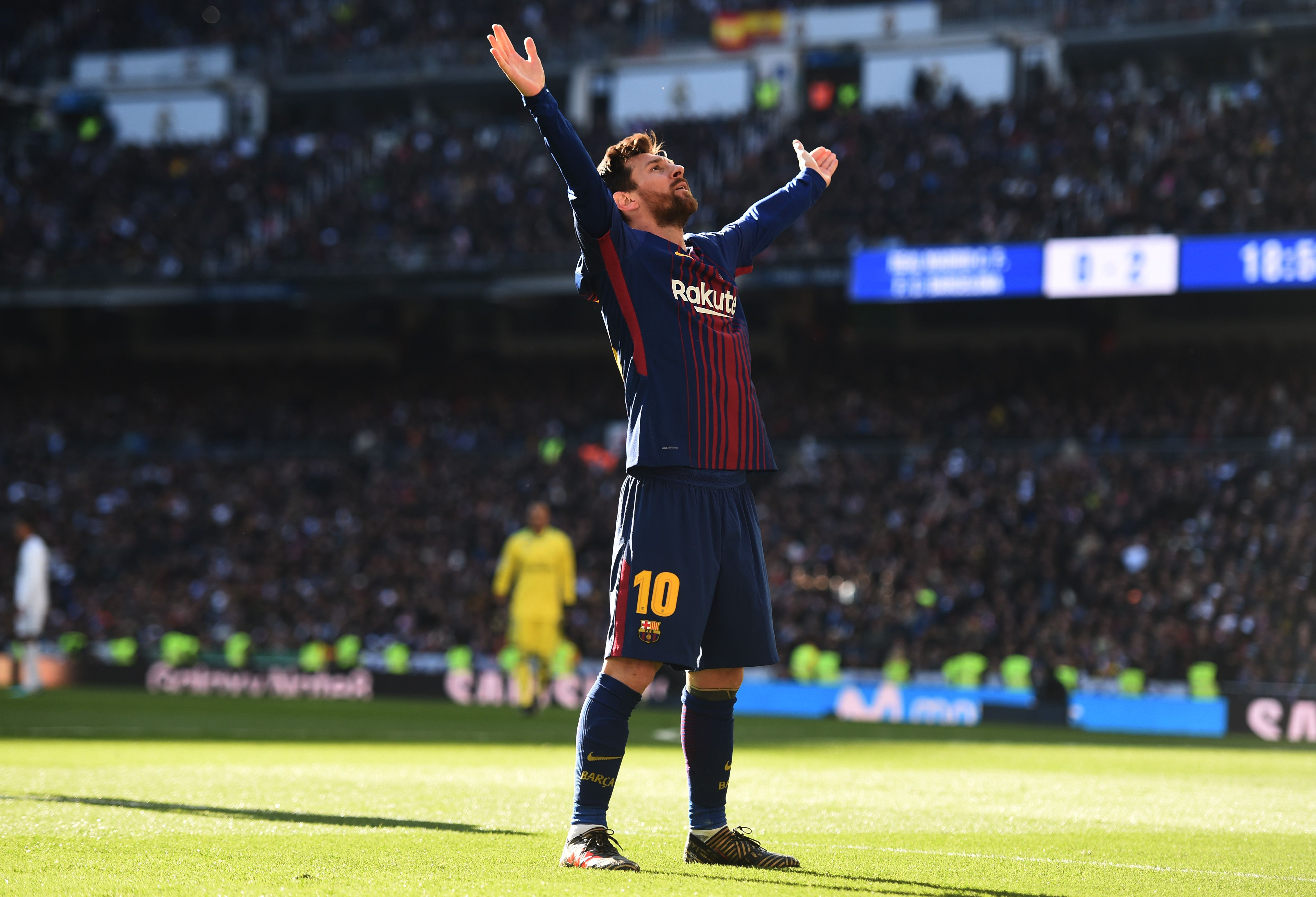 Barcelona All But Ends Real Madrid S Title Chances In El Clasico Win Lionel Messi Lionel Messi Barcelona Messi