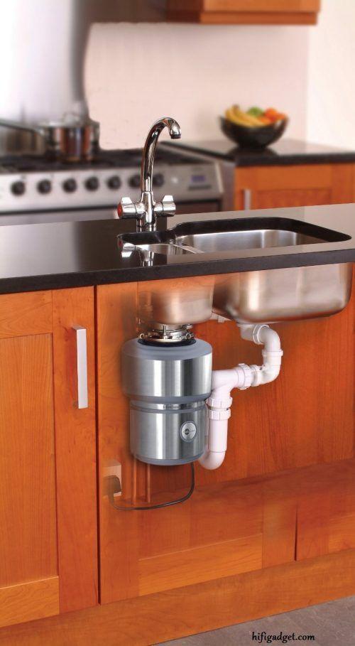 Food Waste Disposer Trash Disposal Can Garbage Sink Kitchen Badger  Continuous