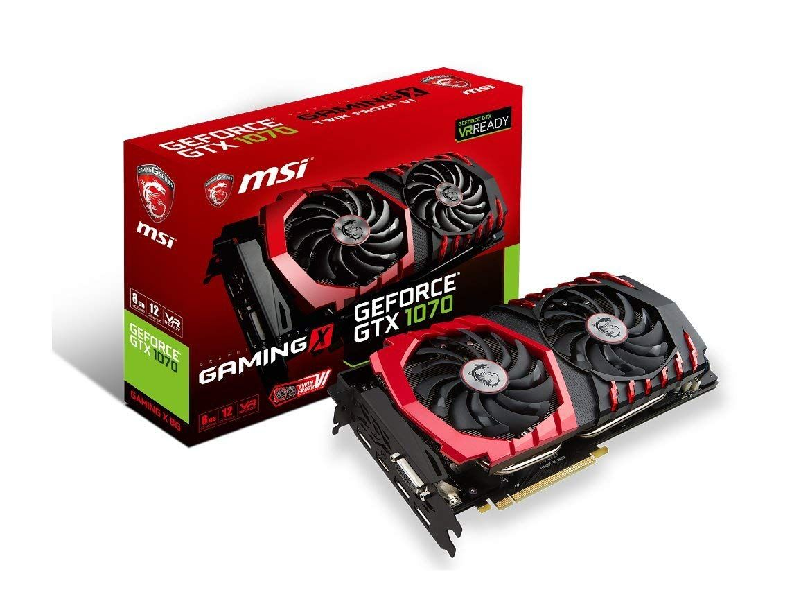 Msi Gaming Geforce 8gb Gtx 1070 Ready Graphics Card Graphic Card Msi Video Card