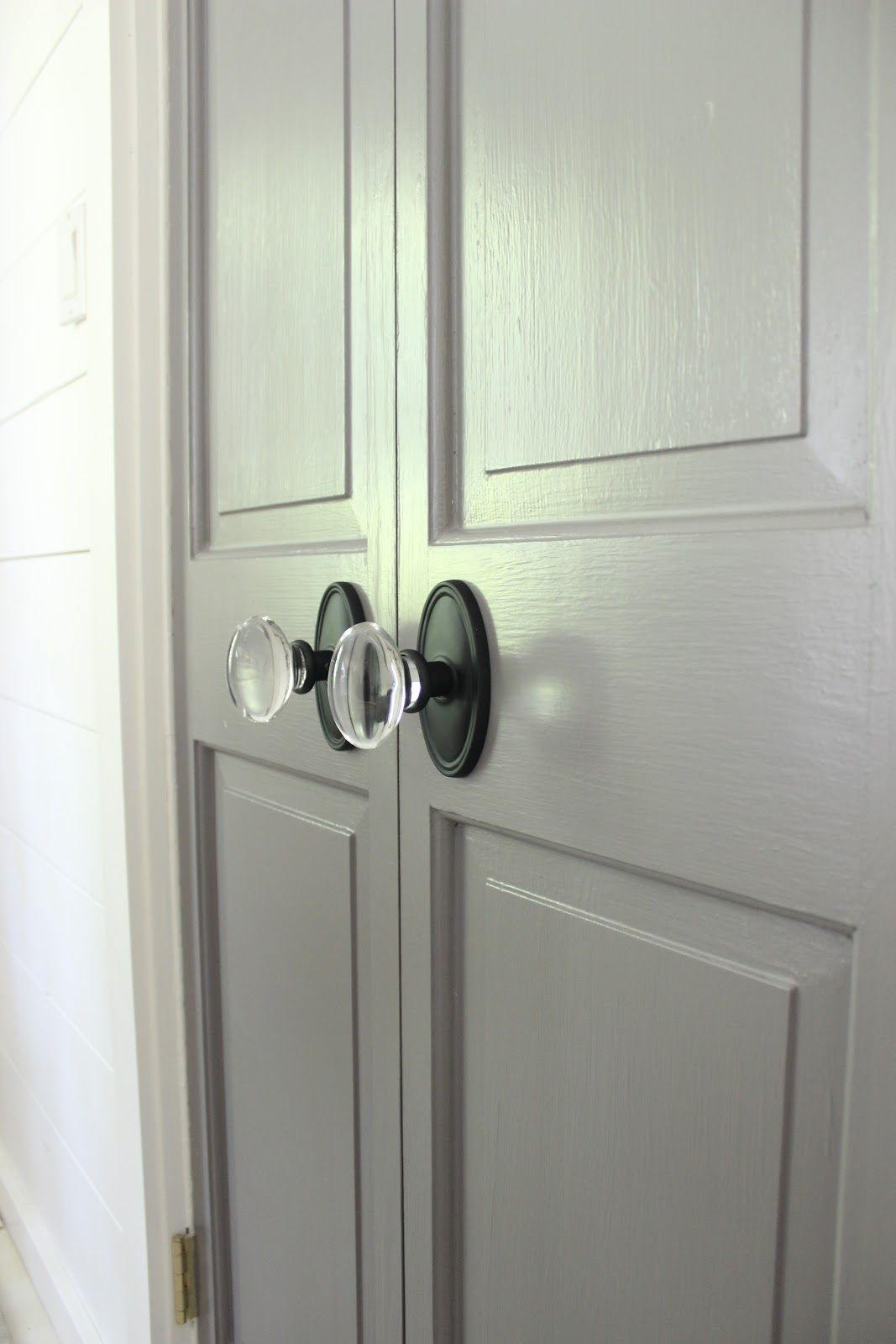 Door Knobs: Emtek [Build.com] Design Indulgence: ONE ROOM CHALLENGE REVEAL