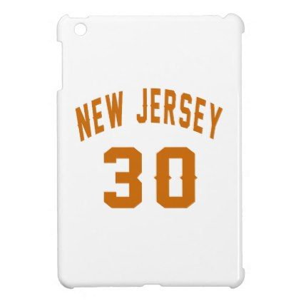 New Jersey 30 Birthday Designs Cover For The IPad Mini