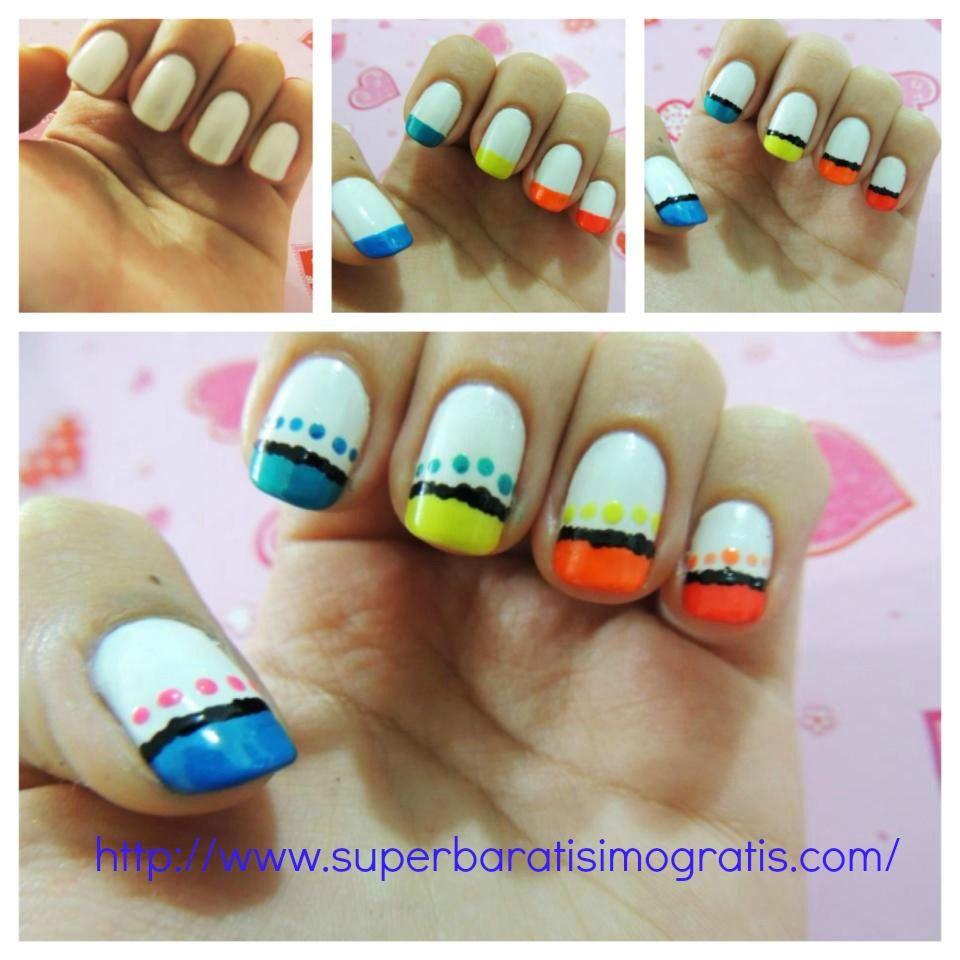 Belleza: Diseño de uñas fácil y divertido | Consejos de Belleza y ...