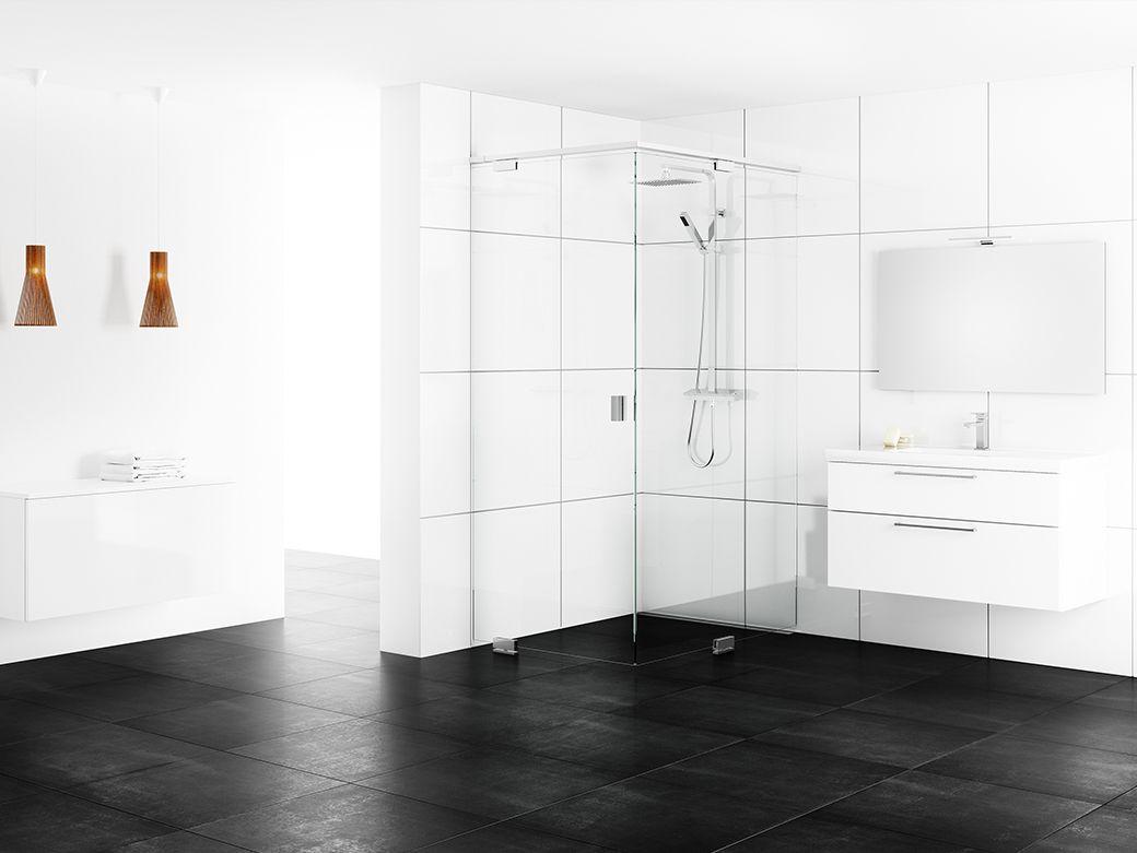 Epic by inr   modell 1. exklusiva duschväggar för nordiska badrum ...