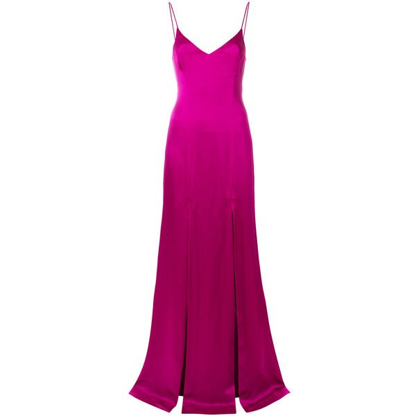Cheap Free Shipping Good Selling Windmill front slit detail dress - Pink & Purple Galvan Cheap Sale Prices MGVWcXjHdO