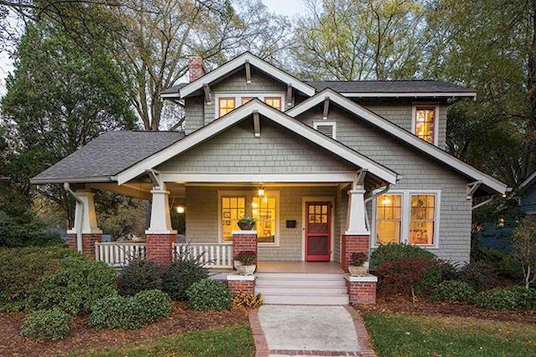 40 Amazing Craftsman Style Homes Design Ideas (19 #craftsmanstylehomes
