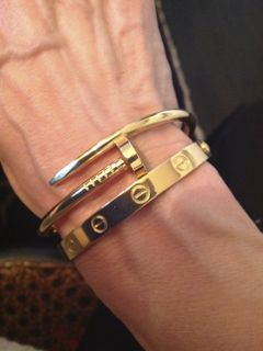 f9d425d9471 Cartier Juste un Clou + Love Bangle in yellow gold