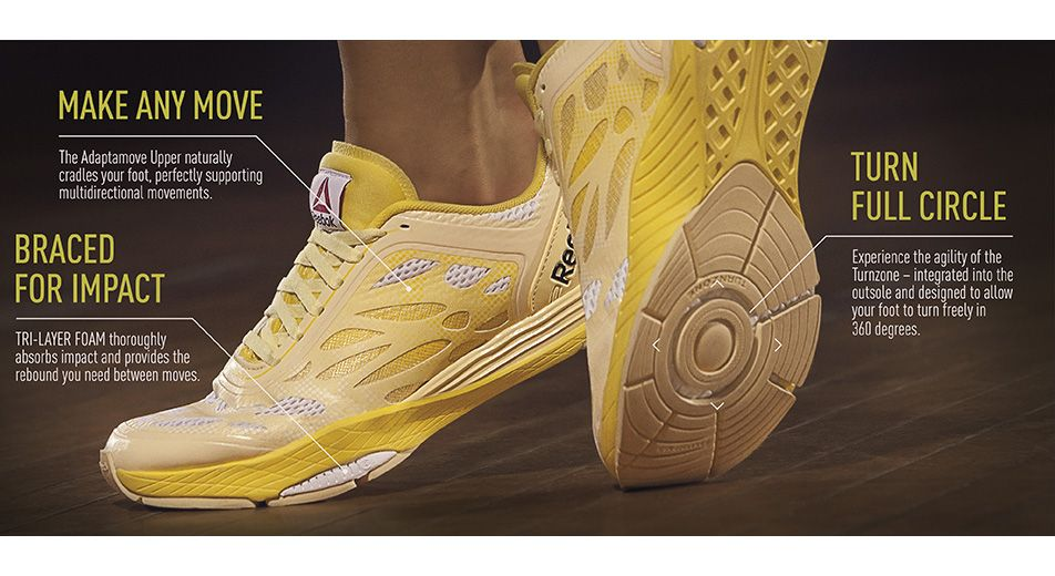 Kick up your cardio with this high impact studio shoe