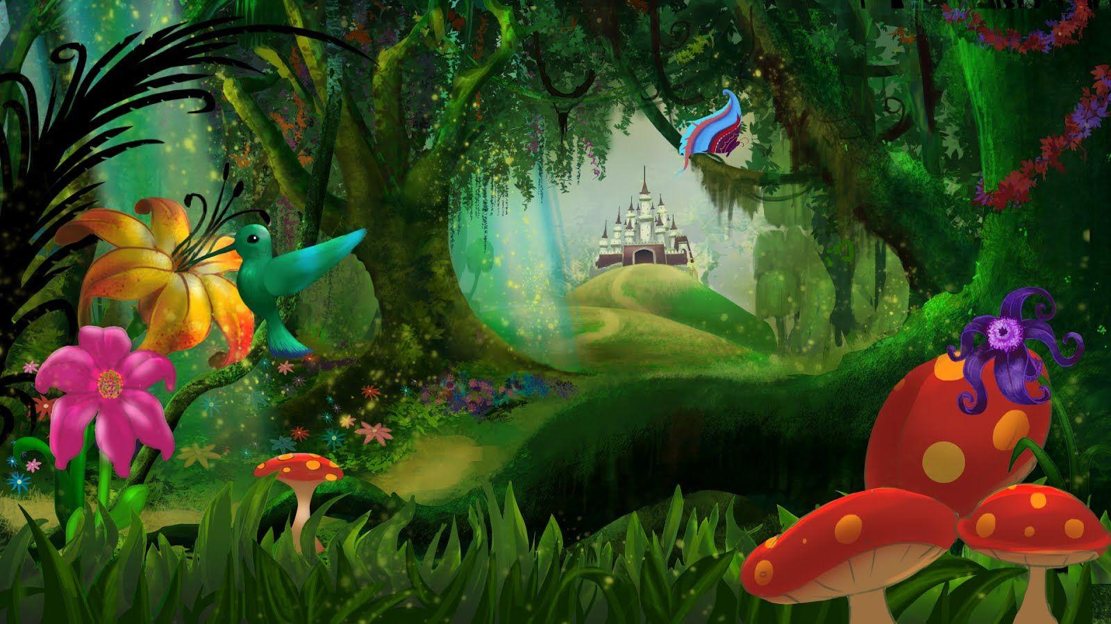 Ninos Corriendo Dibujo Animado Buscar Con Google Bosque Magico Hadas Hadas Hermosas