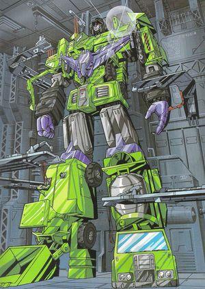 Devastator (G1) - Transformers Wiki