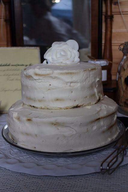 Weddingcake with chocolate and porter