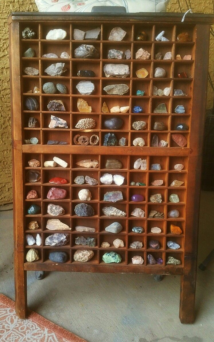 printers tray rock collection