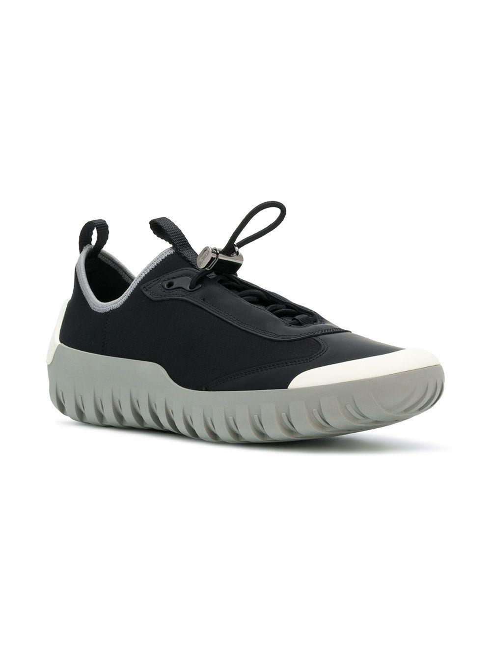Prada Neoprene laceless sneakers