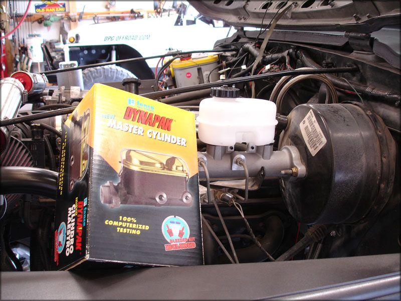 Master Cylinder Upgrade Dodge 2500 Jeep Wrangler Yj Wheeling Offroad 4x4