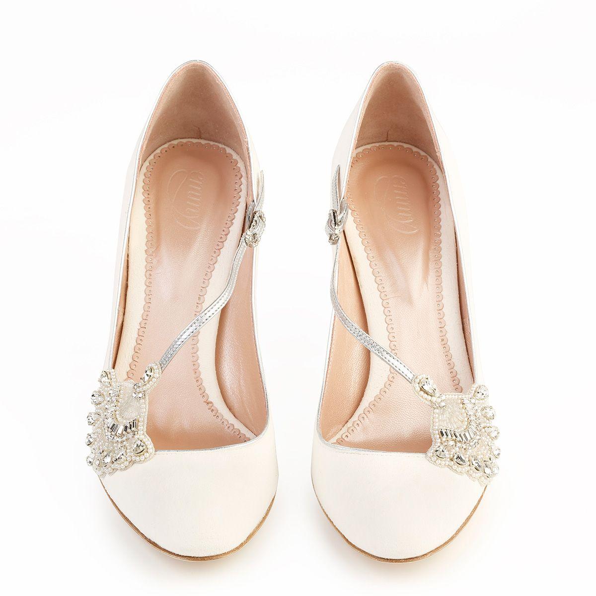 Zapato De Novia Elisabeth Por Emmy Shoes En Mr Right