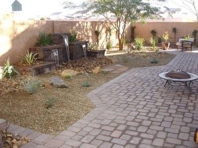 70 Awsome Backyard Desert Lanscaping Ideas Desert Landscaping