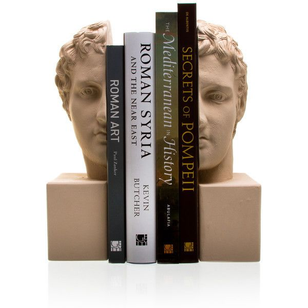 Marathon Boy Bookends ($120) ❤ liked on Polyvore featuring home, home decor and small item storage