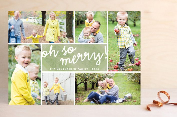 Oh So Merry Collage by Wendy Van Ryn at minted.com