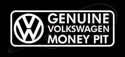 Money Pit Decal Sticker