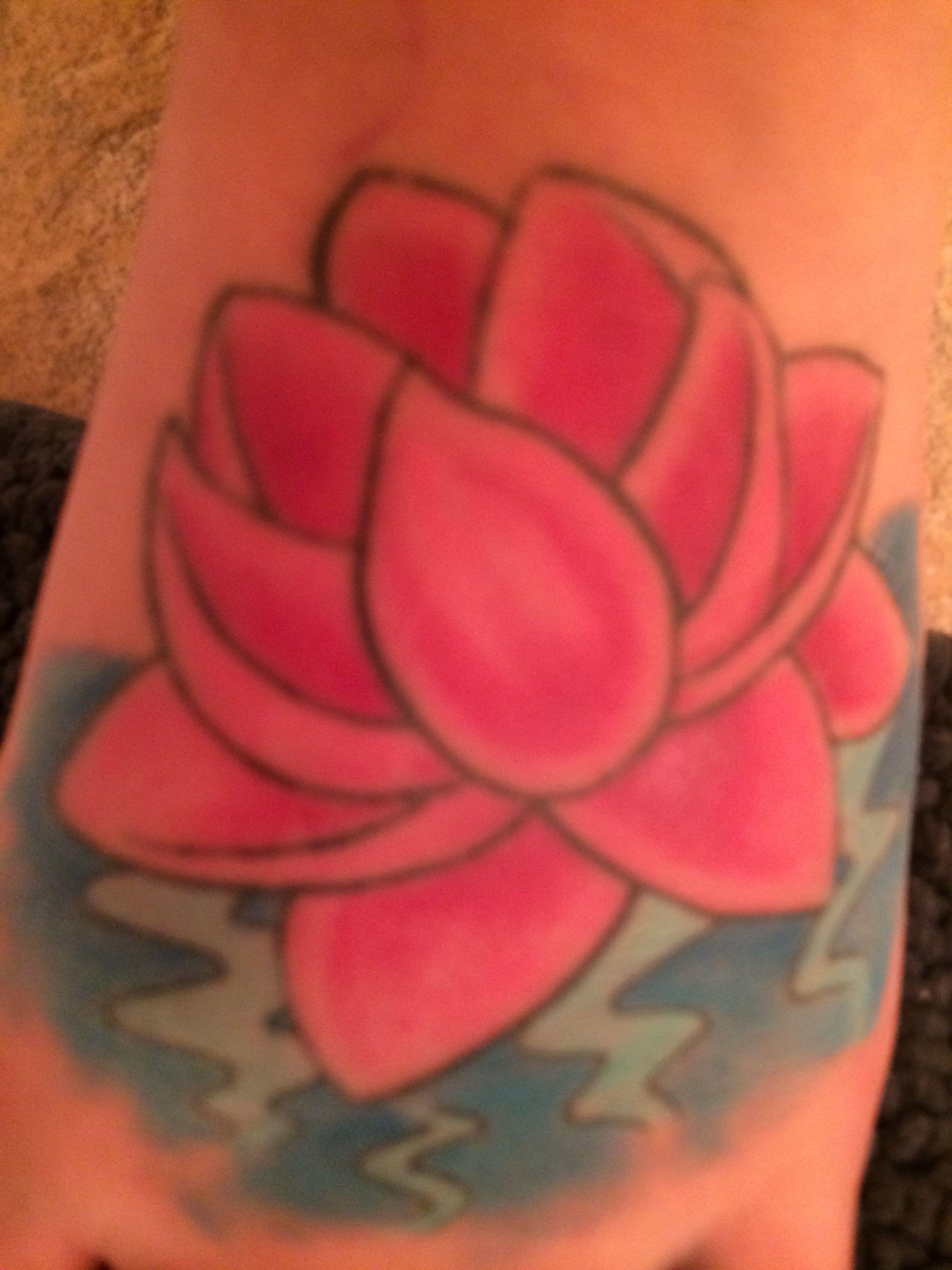 Love my lotus flower tattoo tats pinterest flower tattoos love my lotus flower tattoo izmirmasajfo