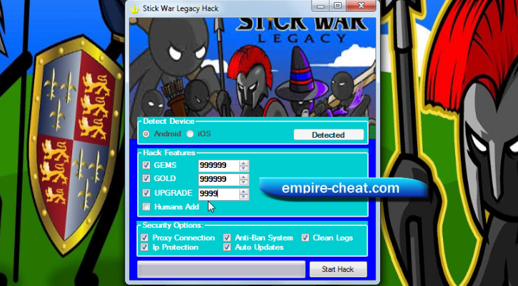 Stick War Legacy Hack Cheat Features Hack Generate