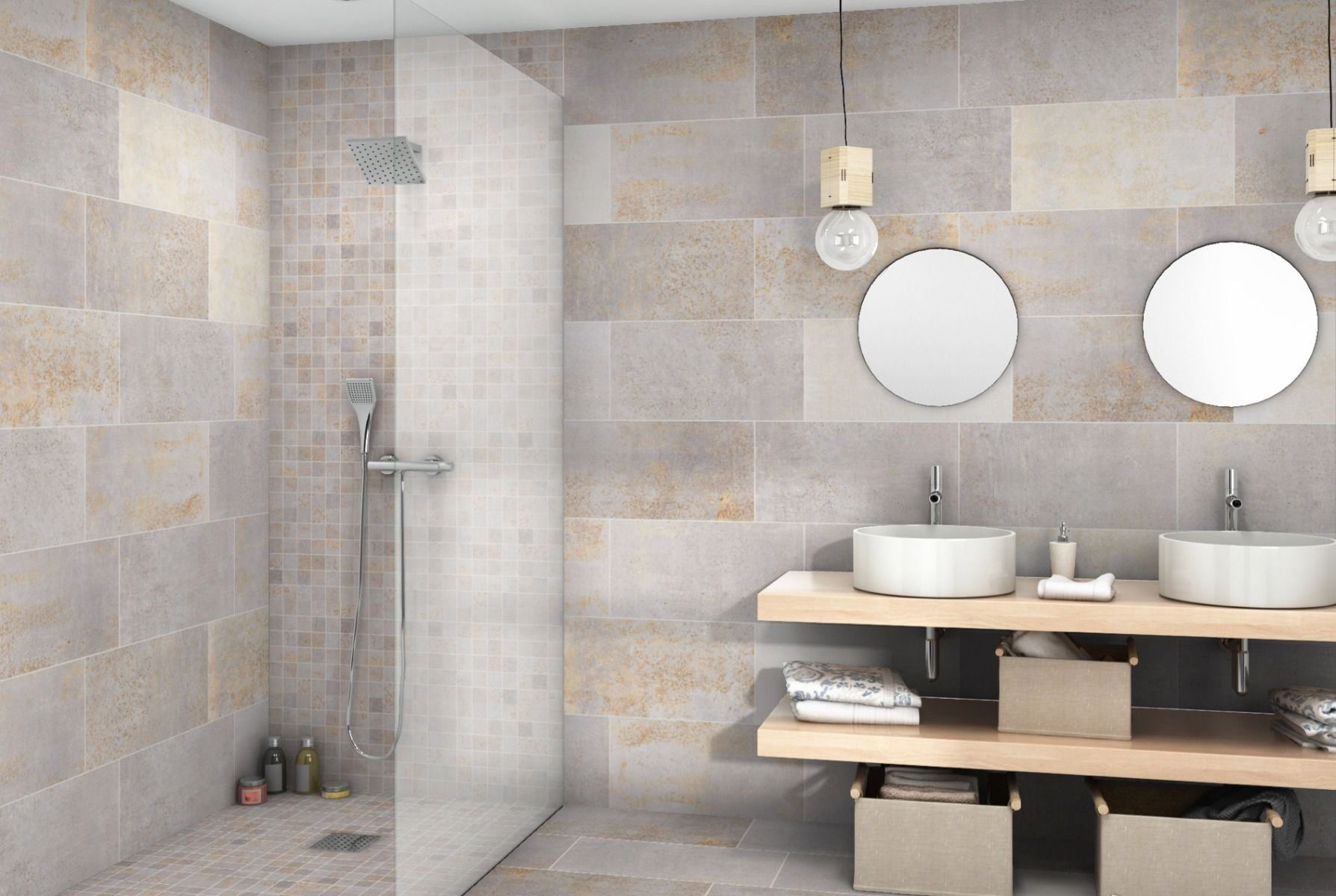 Removing Tile From Bathroom Walls Can Be A Labor Intensive Messy Process And The Work Is Not Over Once Tile Removal Bathroom Wall Tile Remove Tile Backsplash