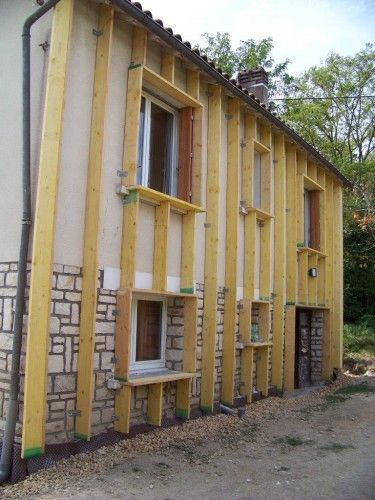 Lu0027habillag 7HF_XXXGGGZSR des parpaings, suite - Maison \ Travaux - Enduire Un Mur Exterieur En Parpaing
