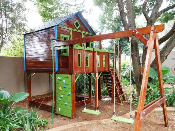 Image result for unique backyard play structures | Play ...