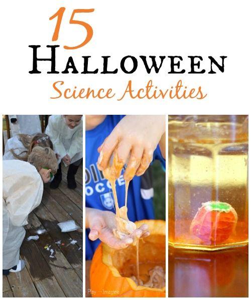 15 Spooky Halloween Science Experiments & Activities   Halloween ...