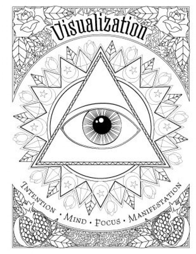 Book Of Spells Coloring Book Of Shadows Book Book Of Shadows Book Of Shadows Witch Coloring Pages Coloring Books