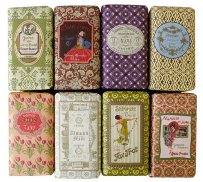 vintage, pattern, label, wrapping, soap, collection